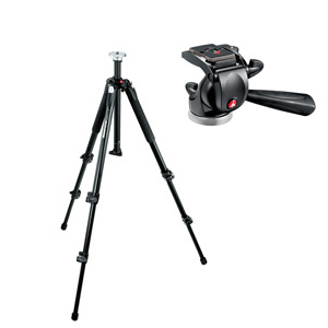 MANFROTTO 190XB + штативная головка 391RC2