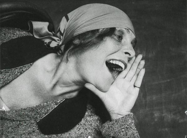 Лиля Брик. Снимок для рекламного плаката
