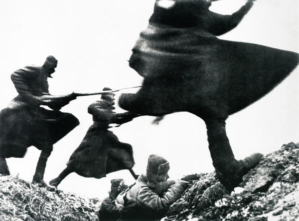 Ремень.  Атака.  Шапка.  Советская армия.  Бой.