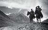 Дозор в горах. Пограничники на Памире