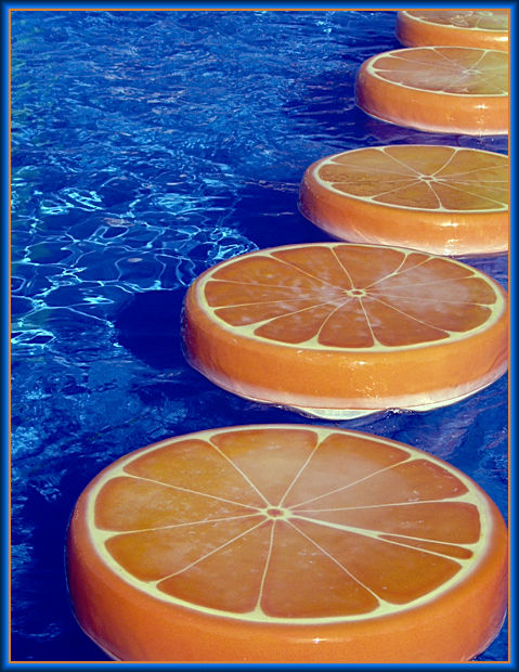 """Предпросмотр - Схема вышивки  """"Большой апельсин """" - Схемы автора..."""