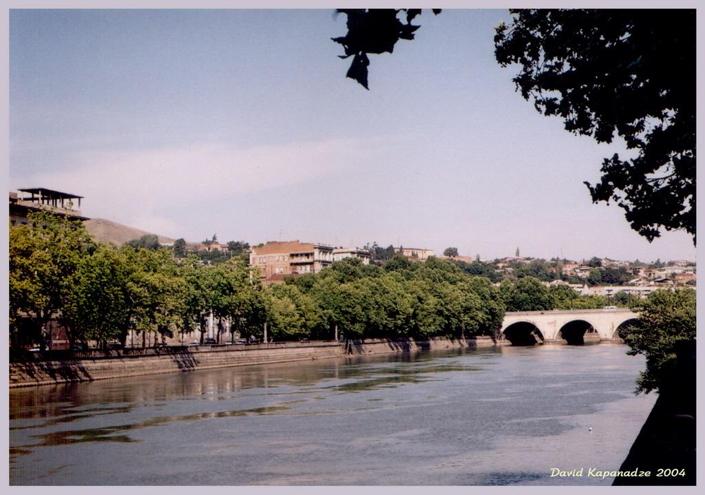 Фото река кура гянджа