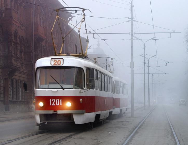 В Барнауле трамвай насмерть сбил жительницу города