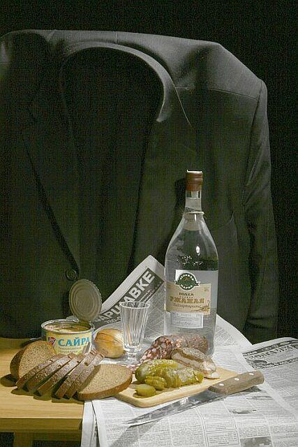 Сегодня официальный день рождения водки.  31 января 1865 года в...