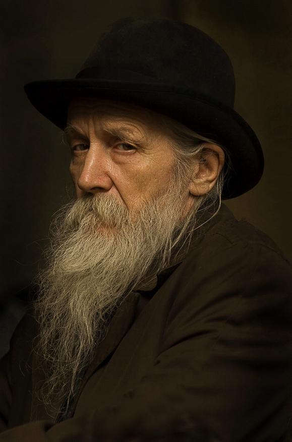 Фрагмент работы Портрет Старика .