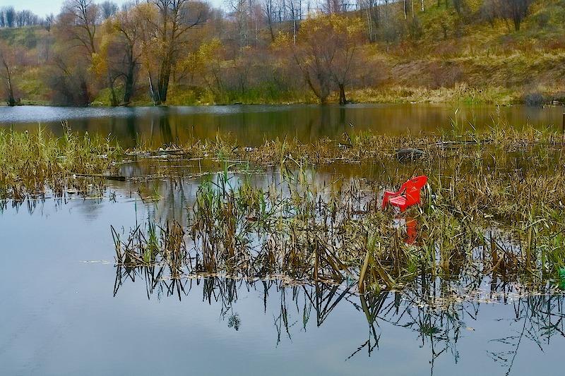 Красивая девушка в озере - закат - Эротические фото - Фотострана.