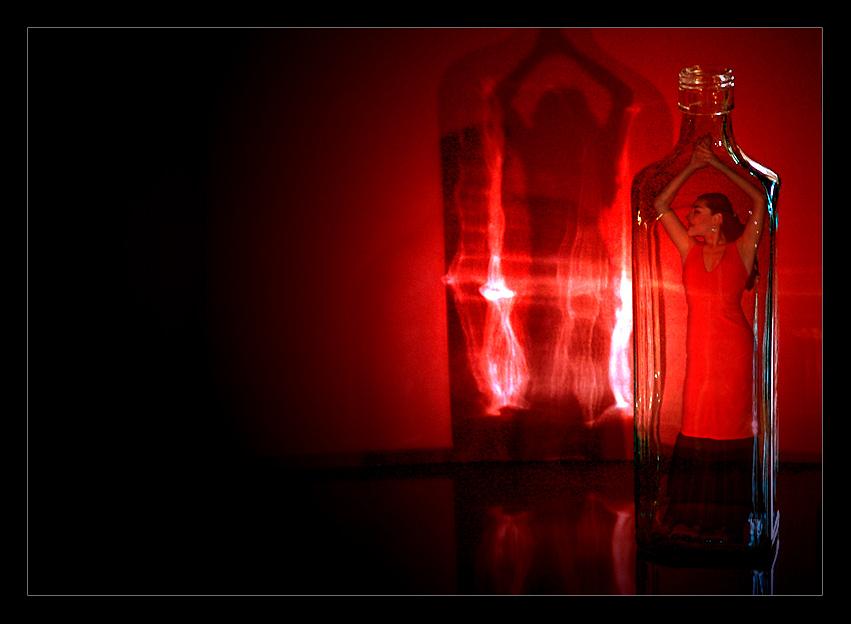 Картинки с джином из бутылки, курить