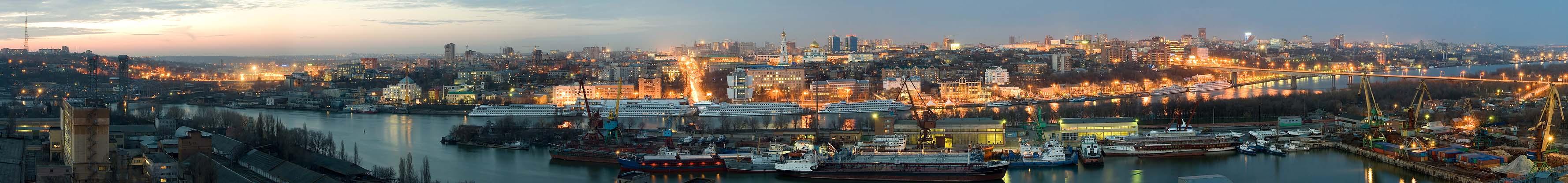 Карта Ростова-b на/b-b Дону/b.  Интерактивная.