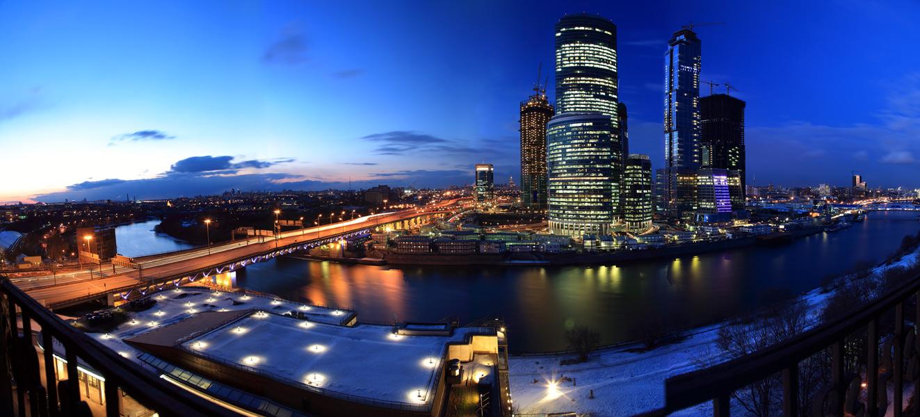 Городской пейзаж москва