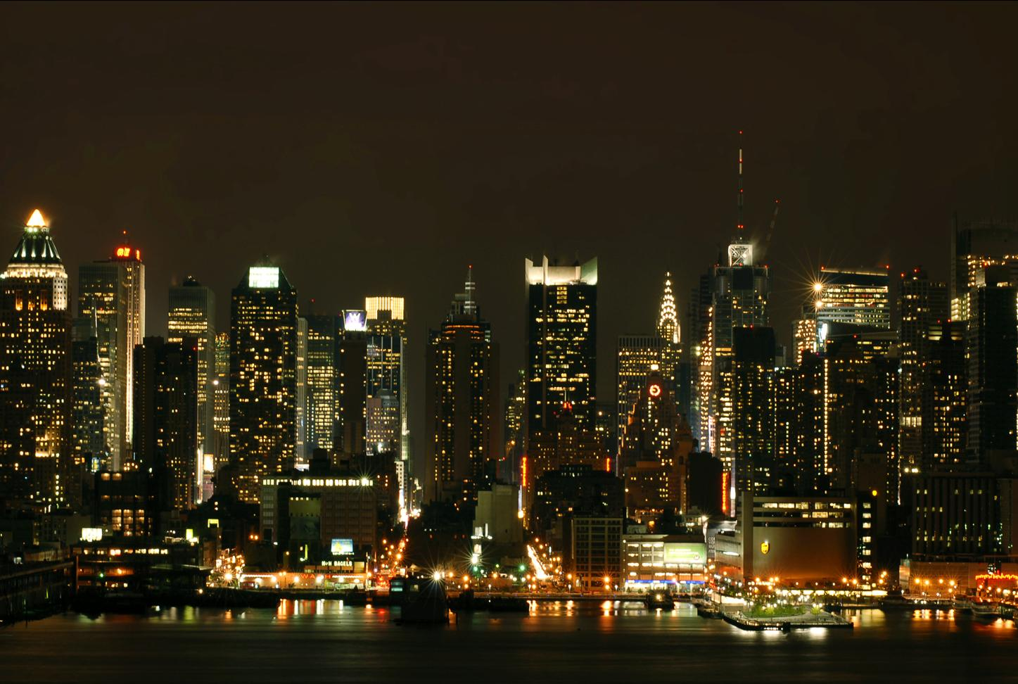 Best places for night Photography in New York City - Thomas Farina Manhattan photos at night