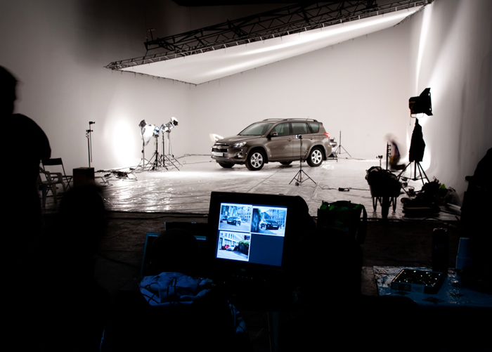 Фотостудия с машинами в москве