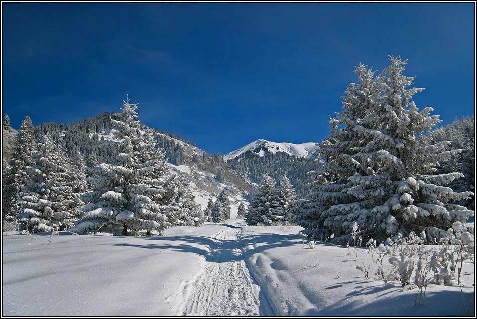 Картинки об алмате зимой