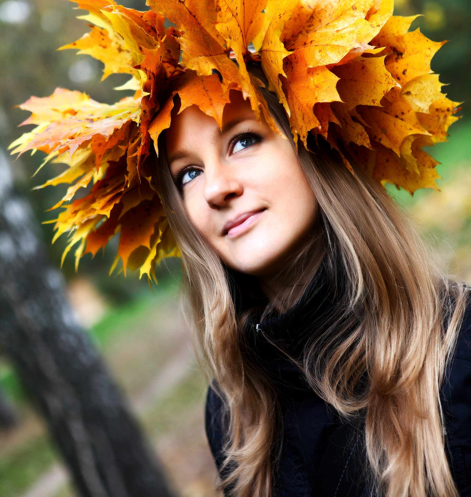 Осенний уход и волосы