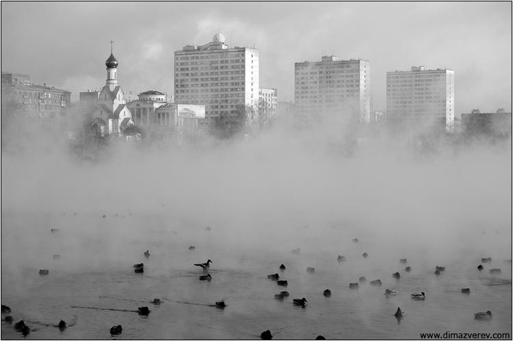 Городской пейзаж. старое русло москвы-реки.  750x499, 107K.  Dima Zverev.