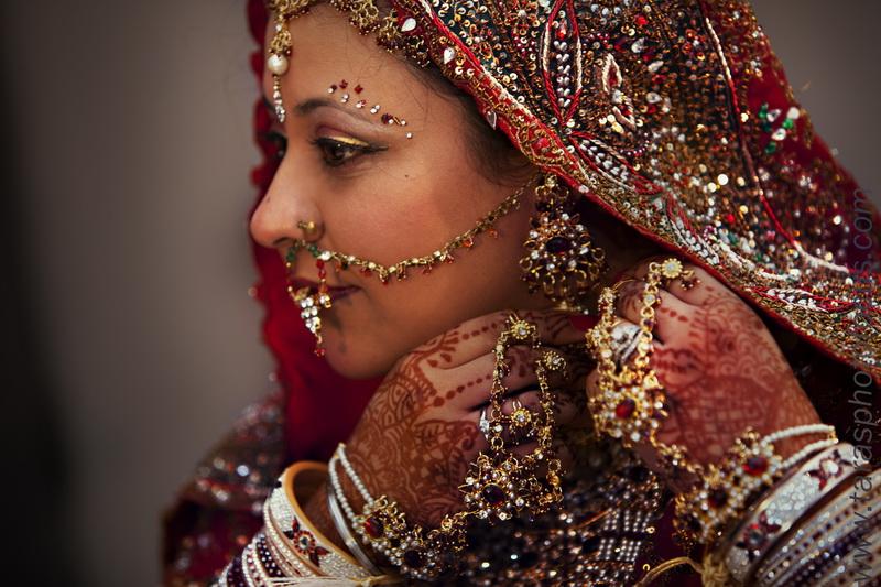 Золотые украшения индийских женщин в совокупности составляют одиннадцать процентов всего золота