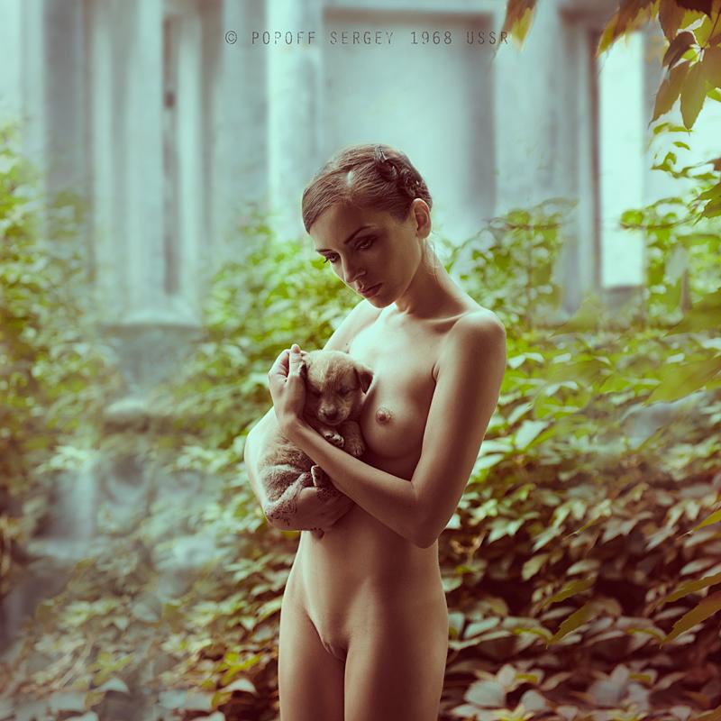 Обнаженная Женщина И Подросток Фото