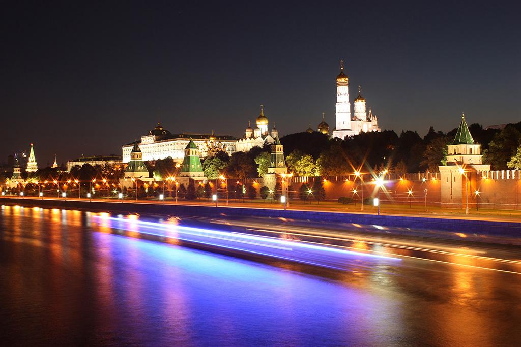Анимация города москвы