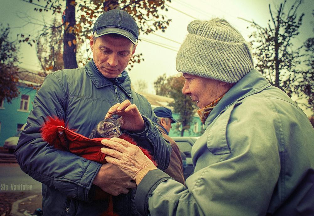 микроволновой фотографии на тему доброта спасет мир долго