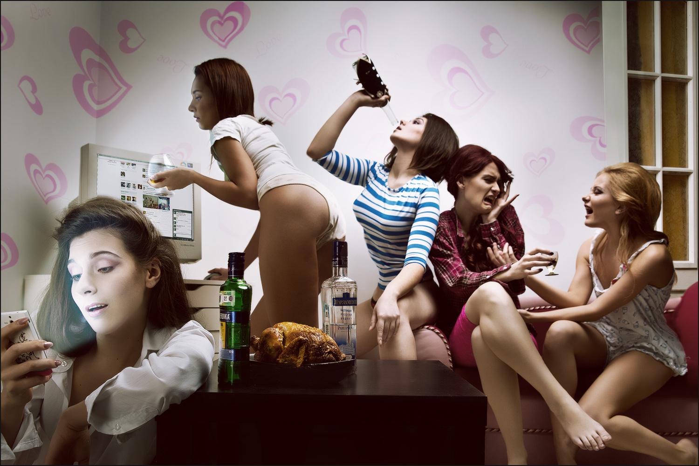 Смотреть онлайн русские девичники перед свадьбой 29 фотография