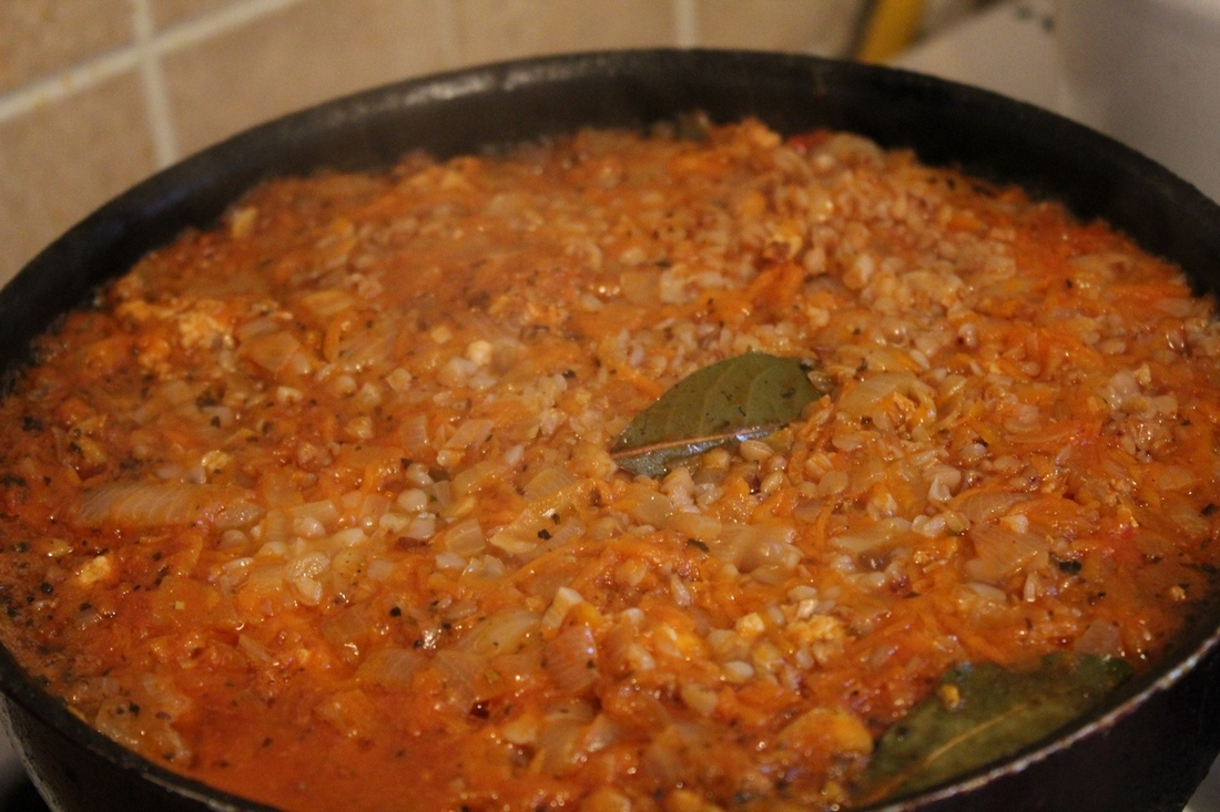 Гречка с мясом и грибами рецепт с пошагово в духовке