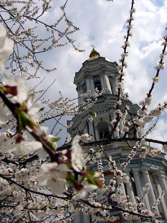 Весна в Лавре