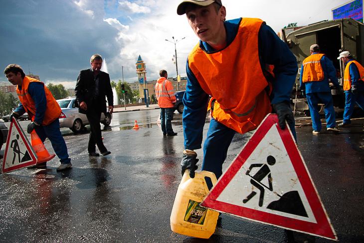 В Ярославле будут отремонтированы все дворовые дороги.