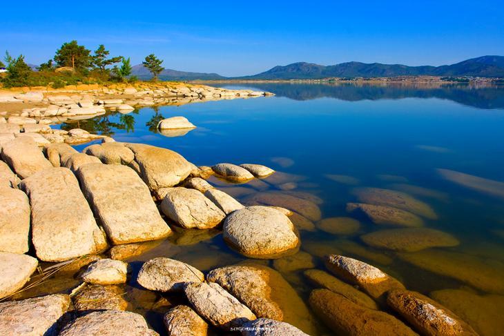 Sergey Kozoderov :: Озеро Сабынды-Коль.Мыльное озеро. :: Природный ...