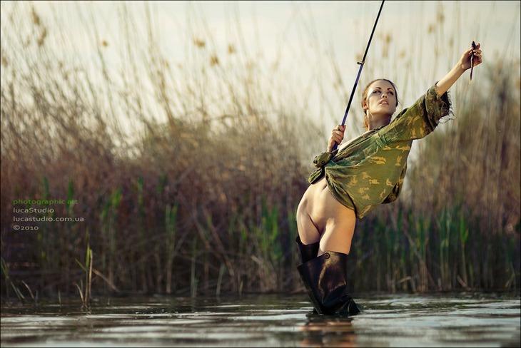 Фото рыбалка порно