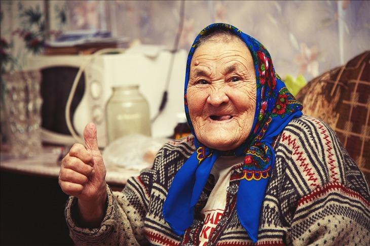Буфера старушек