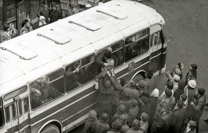 Как в советское время в армию провожали