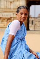 Lady in Hampi, India (Armands)