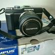 Olympus pen e-pl7 mirrorless camera body (silver)